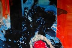'ABSCHIED VON OPHELIA', 2012, 180 cm x 200 cm, acrylic on canvas