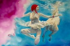 'VON DER LEICHTIGKEIT DES SEINS', 2013, 100 cm x 140 cm, oil on canvas
