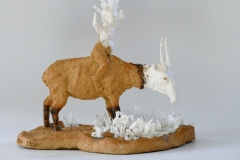 'SEELE  STEPPT', 2020, clay, porcelain, glaze