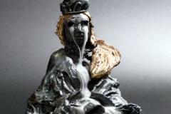 'URMUTTERFLUSS', 2020,clay, glaze