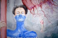 'EINE FRAGE DER BALANCE', 2013, 42 cm x 56 cm, watercolor